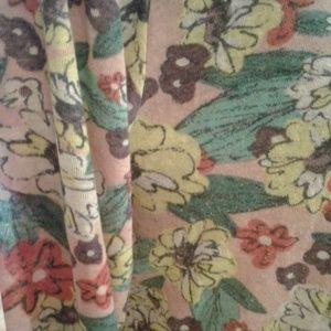 LuLaRoe Jackets & Coats - 💜💟FLOWERED SARAH CARDIGAN💟💜